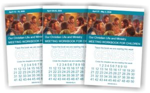 MWB for children April 2020